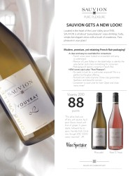 Sauvion 2011 New Packaging
