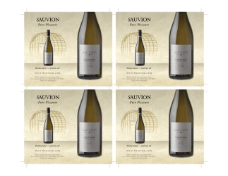 Sauvion Tasting Cards Vouvray Front 4-Up