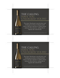 The Calling 2009 Chardonnay