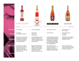 Sauvion French Rosé Sell Sheet