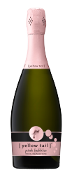 [ yellow tail ]® bubbles pink bubbles