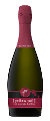 [ yellow tail ]® bubbles red moscato bubbles
