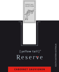 [ yellow tail ]® Reserve Label