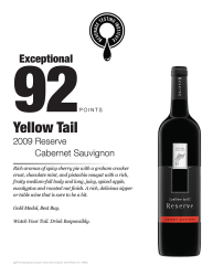 [yellow tail]® Reserve review