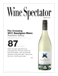 The Crossings 2011 Sauvignon Blanc Wine Spectator