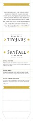 Skyfall  Editable Table Tent  2015 All Varietals