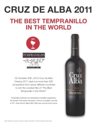 Cruz de Alba  Best Tempranillo in the World  Sell Sheet