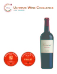Girard  2011 Artistry   92 points   Ultimate Wine Challenge   Review