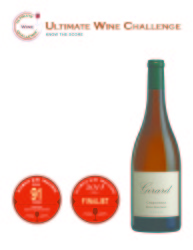 Girard  2012 Chardonnay   91 points   Ultimate Wine Challenge   Review