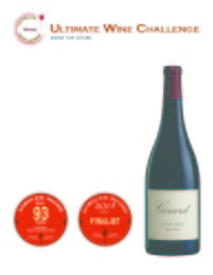 Girard  2012 Petit Sirah   93 points   Ultimate Wine Challenge   Review