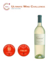 Girard  2013 Sauvignon Blanc   90 points   Ultimate Wine Challenge   Review