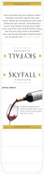 Skyfall   Merlot   Table Tent