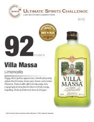 Villa Massa   Limoncello   Great Value - 92 Points   Ultimate Spirits Challenge - 2015   Review