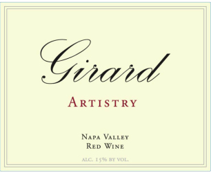Girard  Napa Valley   Artistry   Front Label