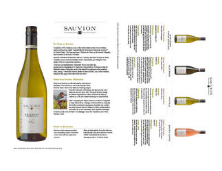 Sauvion   2015 Sauvion Family Brand   Sell Sheet