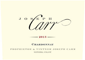 Joseph Carr   Sonoma Coast Chardonnay   NV 750ml Front Label