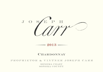 Joseph Carr   Sonoma Coast Chardonnay   NV 750 mL Front Label   NV Front Label