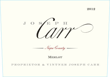 Joseph Carr   Merlot   NV 750 mL Front Label