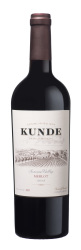 Kunde Estate   Sonoma Valley   Merlot   Bottle Shot