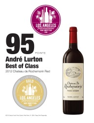 André Lurton   2012 Château de Rochemorin Red   2015 Los Angeles International Wine Competition   95 Points   Best In Class   Review
