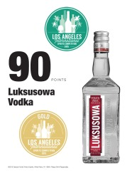 Luksusowa   2015 Los Angeles International Spirits Competition   90 Points   Review