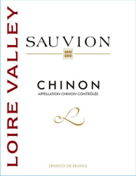 Sauvion   Chinon   Front Label