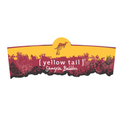 [ yellow tail ]® bubbles   Sangria   Front Label