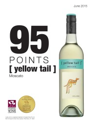 [ yellow tail ]®   Moscato   2015 San Francisco International Wine Competition   95 Points Double Gold Medal   Review