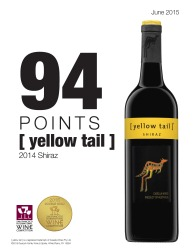 [ yellow tail ]®   2014 Shiraz   2015 San Francisco International Wine Competition   94 Points Double Gold Medal   Review