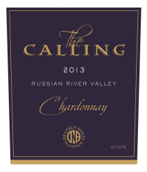 The Calling   2013 Chardonnay   Front Label