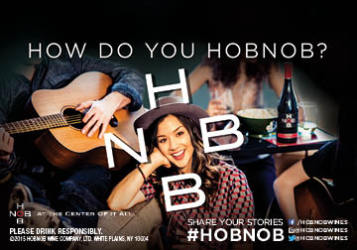 HobNob   Shelf Talker