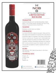 HobNob   Limited Edition Red Blend   Technical Sheet