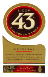 Licor 43   Front Label