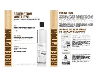 Redemption   White Rye   Technical Sheet