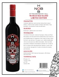 HobNob   Wicked Red Blend   Limited Edition   Technical Sheet