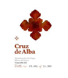 Cruz de Alba   Crianza   750 mL Front Label